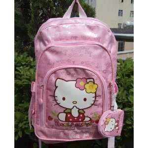 Hello Kitty Toddler School Bag Backpack Case for Elementary Student