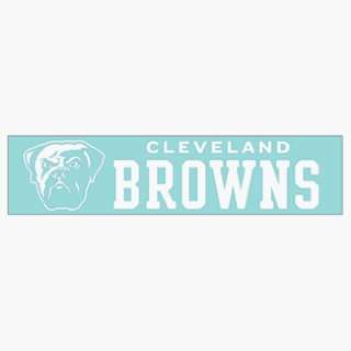 NFL Cleveland Browns 4x16 Die Cut Decal