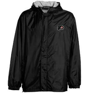 Philadelphia Flyers Legacy Nylon Full Zip Hooded Jacket