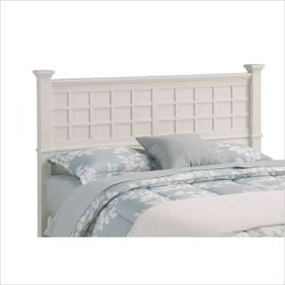 Home Styles Arts & Crafts Headboard & Night Stand White Finish Bedroom