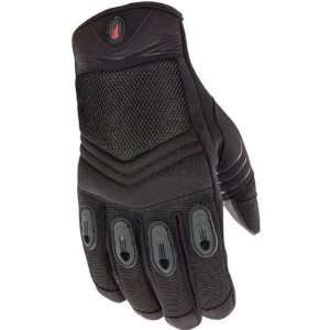Power Trip Open Road Mens Textile Touring Motorcycle Gloves w/ Free B