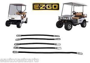 EZGO Golf Cart # 2 Gauge BATTERY Cable Set