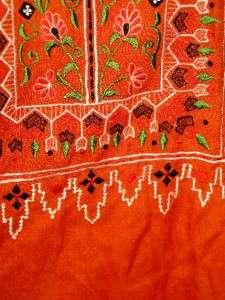 vtg hippie festival maxi Ethnic Indian SALWAR Embroidered long Dress