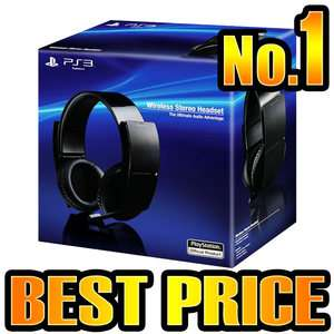 OFFICIAL SONY PLAYSTATION 3 PS3 WIRELESS STEREO 7.1 SOURROUND HEADSET