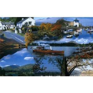 Lakes Montage Jigsaw Puzzle 1000pc Toys & Games