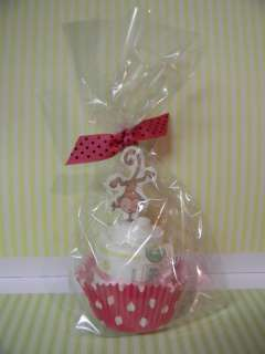 MONKEY diaper cupcakes boy/girl baby shower favor or decoration