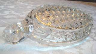 ANTIQUE CUT GLASS CRYSTAL RELISH BOWL AMERICAN HOBNAIL PRESSED THEN