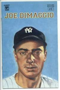 CELEBRITY COMICS JOE DiMAGGIO #1 MARILYN MONROE ON BACK