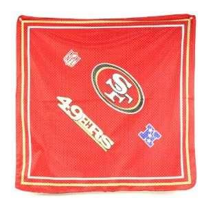 San Francisco 49ers NFL Jersey Rally Bandana: Everything Else