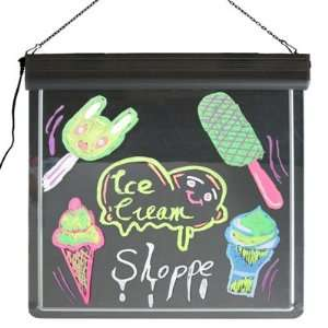 LED writing board&Neon signs,Advertising board display for