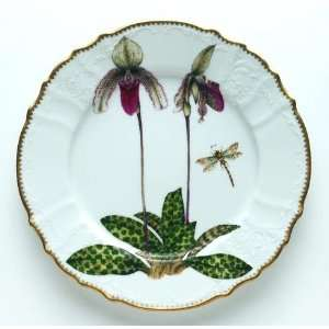 Anna Weatherley Orchid 10.5 In Dinner Plate #3