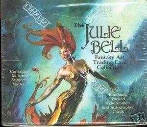 Julie Bell Fantasy Art Trading Card Box