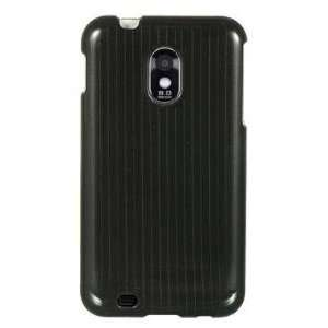 BLACK PINSTRIPE LINES Designing Faceplate Phone Cover