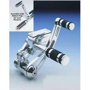 USA Classic Forward Control Kit With Ribbed Footpegs For Harley