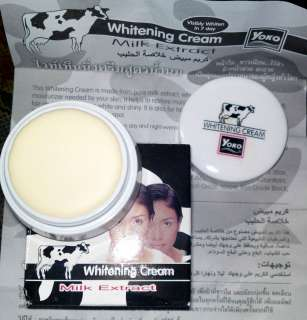 Yoko Whitening Cream Milk Extract Visibly Whitens in 7 days