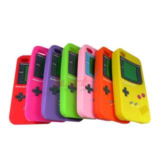 Soft Silicone Case Cover Protector Game Boy For Apple iPhone 4 4G 4th
