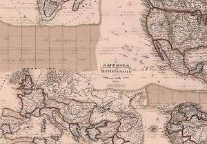 WALLPAPER OLD WORLD MAP DESIGN