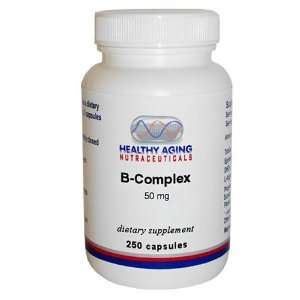 Healthy Aging Nutraceuticals B Complex 50 Mg 250 Capsules