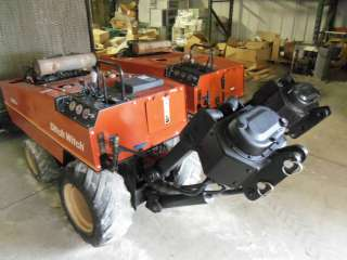 Ditch Witch 255 SX cable plow, pipe puller, wire burier