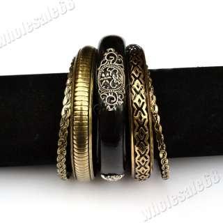 FREE wholesale lots VTG wood men/women mixed bracelet bangle Cuff