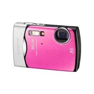 Olympus Stylus 850 SW 8.0MP Waterproof Pink Digital Camera Camera