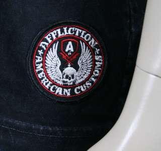 Mens T shirt SPEED SHOP black lava wash NEW American Customs
