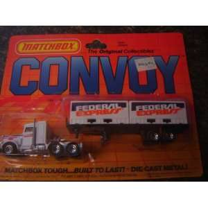 Matchbox Fed Ex, Peterbilt Convoy Truck(1983): Everything Else