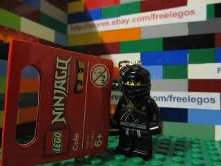 LEGO   Ninjago ninja COLE Key Chain   BRAND NEW with TAGS keychain