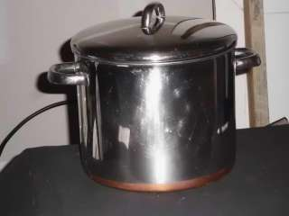 1801 1 QT, 1.5 Qt & 8 QT Quart Stainless Steel Copper Bottom