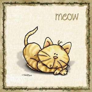Animal Wall Art Kitty Cat Baby