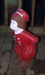 Vintage Concrete Dutch Boy & Girl Yard Statue/Ornaments