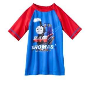 Thomas Toddler Boys Swim Rash Guard   4T