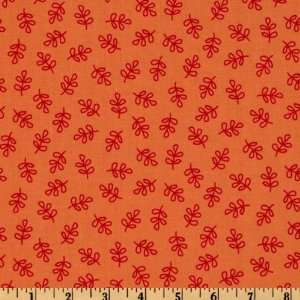 44 Wide Michael Miller Nordic Holiday Holly Folly Orange