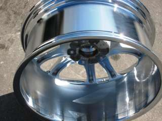 PORSCHE CAYENNE SPORT DESIGN OEM CHROME WHEEL RIM   1 SINGLE