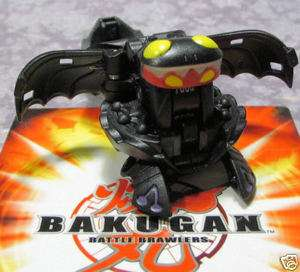 Bakugan Elfin Darkus Black G Power Change New Vestroia Special Attack