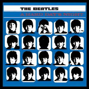 The Beatles A Hard Days Night Album Cover Patch