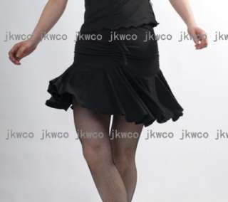 New latin salsa tango rumba Cha cha ballroom dance dress dance skirt