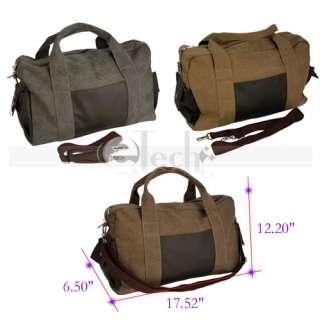 Men Zipper Duffel Gym Bag Travel Luggage Bag Messenger Bag Tote
