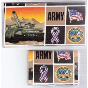 Cover Debit Set Made with United States Army Fabric