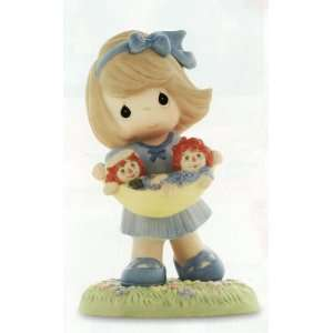 / Raggedy Ann & Andy Best Friends Forever Figurine
