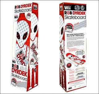 Rob Dyrdek SKATEBOARD 4 Balance Board Nintendo Wii Fit Accessory ALIEN
