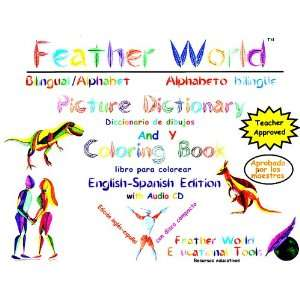 Alphabet Picture Dictionary and Coloring Book (9780974812601) Books