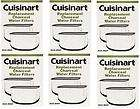 cuisinart coffee maker DCC RWF 6 pack TOTAL 12 CHARCOAL WATER FILTERS