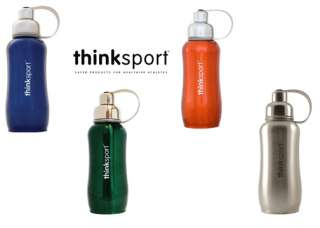 Thinksport 750 mL Stainless Steel Bottle U Pic Colors