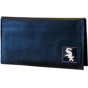 Chicago White Sox Embossed Leather Checkbook Cover   MLB