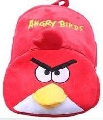 NEW RARE 13 Angry Birds Round Plush Throw Pillow Cushion FREE