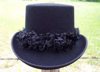 QUALITY* LADIES Elegant VICTORIAN Formal Dress Top Hat