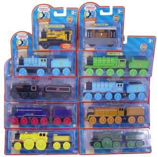 10 WOODEN TRAINS   Emily Molly Thomas Train Set Lot NEW
