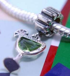 925 SILVER BEAD EUROPEAN CHARM for bracelet MARGARITA HAPPY HOUR G88