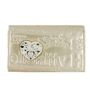 Wallet Purse Kt027 Multi functional Long Kitty Purse/wallet (Yellow
